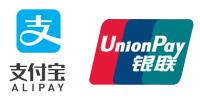 銀聯(ぎんれん・China UnionPay)とAlipay(アリペイ・支付宝)
