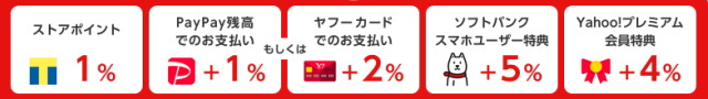Yahoo!ショッピングで最大「17%還元」となる条件について